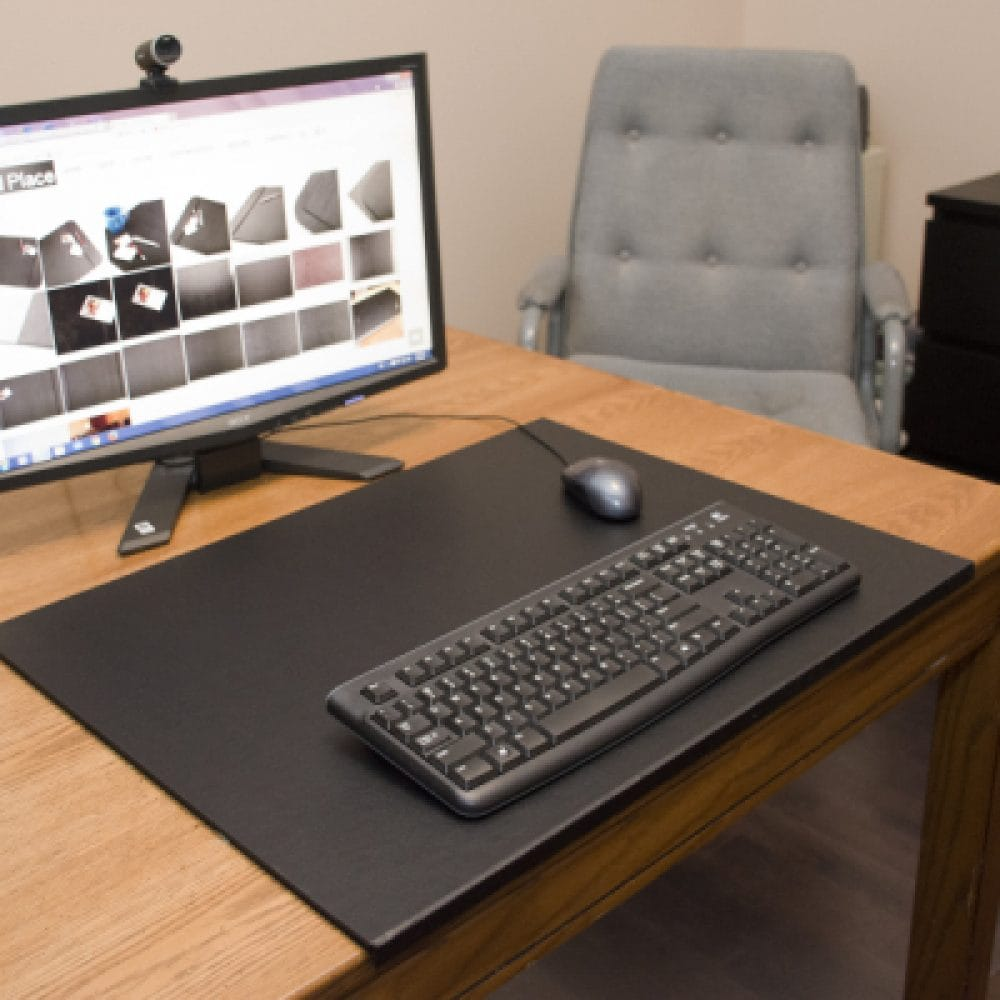 Desk Pad With ½ Edge Protector